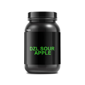 DZL Sour Apple 56GRAMS Herbal Incense