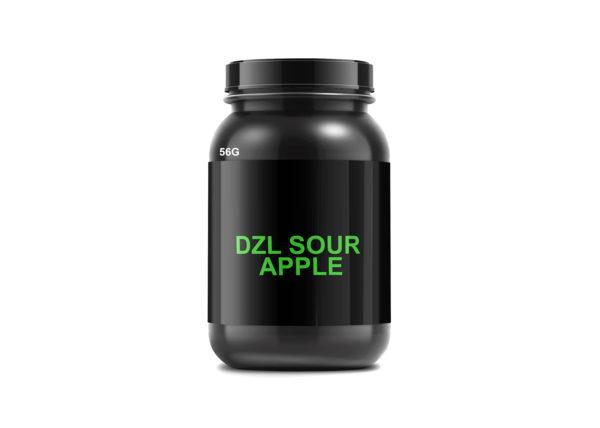 DZL Sour Apple 56GRAMS Herbal Incense